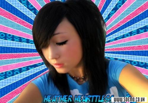 soEmo.co.uk - Emo Kids - Heather-Hearttless